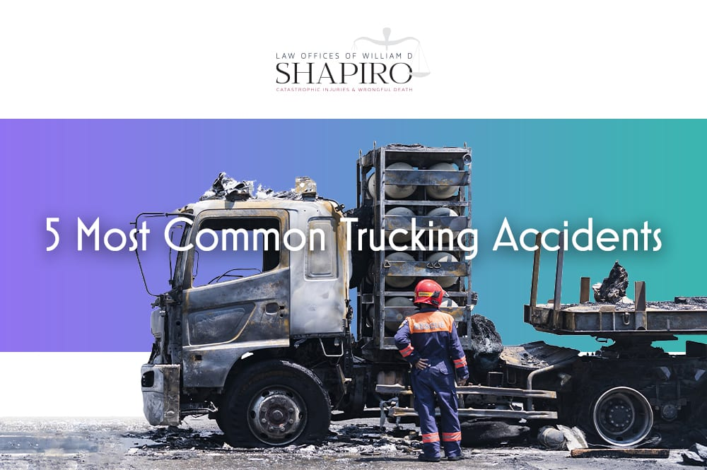 5 common trucking accidents