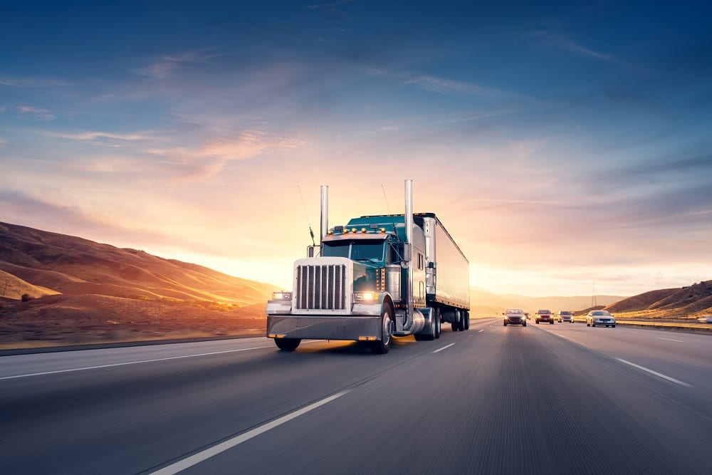 self driving truck