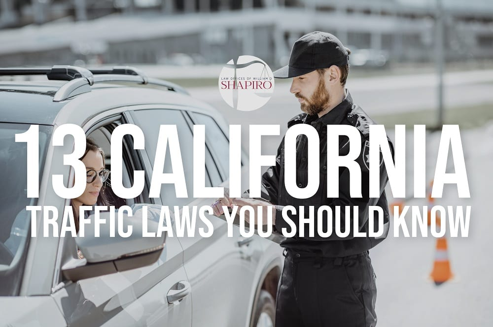 California Traffic law