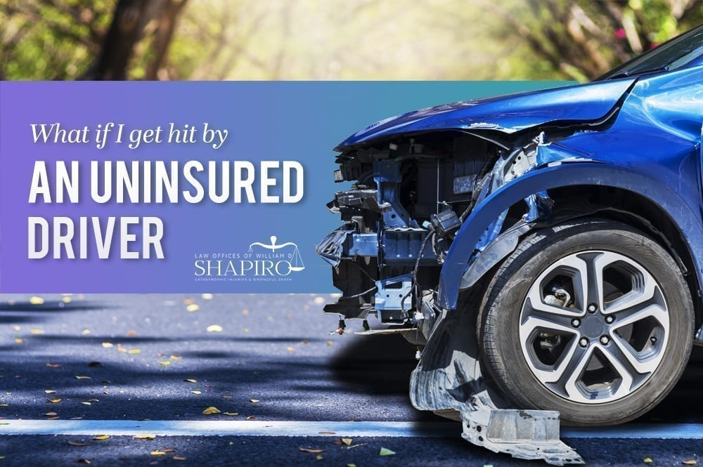 an accident with an insured driver